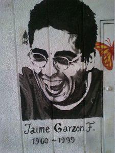 Wandbild in Erinnerung an Jaime Garzón