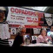Angehörige von Verschwundenen der Diktatur fordern Gerechtigkeit
