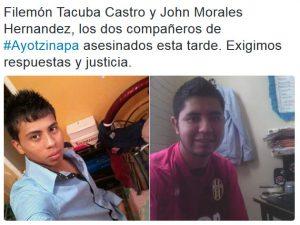 Ermordete Studenten