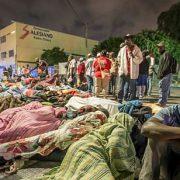 Überfüllte Flüchtlingsunterkünfte in Baja California