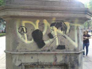 Frauen machen mobil gegen geschlechtsspezifische Gewalt. Foto: Katja Fritsche