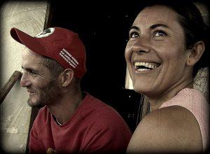 Zwei Mitglieder der Landlosenbewegung MST in Brasilien. Foto: Flickr/Daniel Zanini H. (CC BY 2.0)