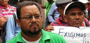 Yoni Rivas, Pressesprecher der Bauernbewegung MUCA aus dem Aguán-Tal / Foto: Giogrio Trucchi, Rel-UITA