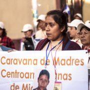XII. Karawane: Mütter aus Mittelamerika suchen ihre Kinder