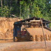 Illegaler Bergbau: Mehr als 10.000 Hektar Regenwald binnen vier Jahren zerstört