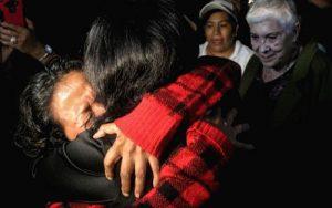Wiedersehen nach 37 Jahren durch die Karawane der Mütter / Foto: Ivan Sah, avc-noticias bei desinformemonos.org