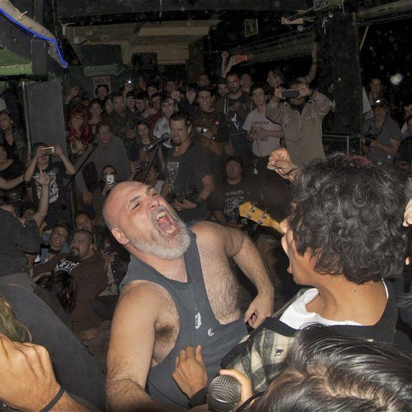 Sänger Punk Konzert