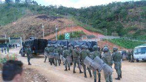 Militär im Camp