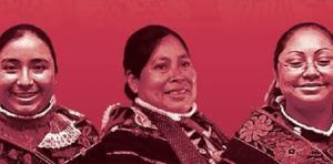drei indigene Frauen