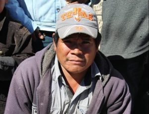 Wieder ein Rarámuri ermordet. Juan Ontiveros. Foto: Desinformémonos