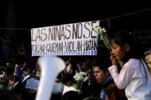 Anwohner protestieren