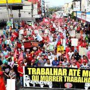 Brasilien: Würdige Arbeit und Rente in Gefahr