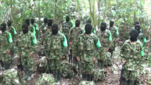 AGC-Circa 250 neue Paramilitärs sind im Norden von Chocó eingesickert