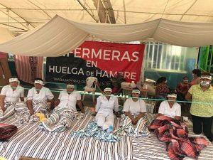Hungerstreik Krankenschwestern