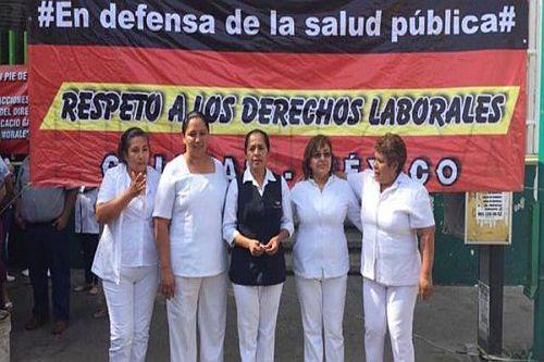 Krankenschwestern im Hungerstreik