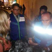 Anlässlich der Verhaftung von Jennifer Moore und John Dougherty in Cusco