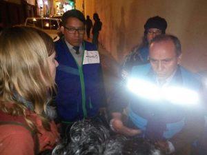 Verhaftung von Moore und Dougherty / Foto: Cooperacción