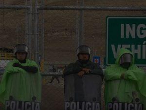 Peru: Polizisten im Einsatz für den Bergbaukonzern Hudbay