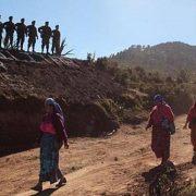 Ausnahmezustand: Soldaten sind in der Gemeinde Ixchguán angekommen / Bildquelle: Consejo del Pueblo Maya, CPO