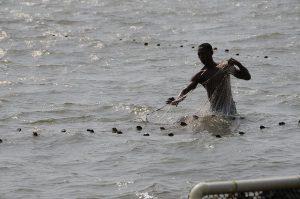 Auch vom Klimawandel in der Karibik betroffen: Fischer an der kolumbianischen Karibikküste / Foto: Carlos Octavio Uranga, CC BY-NC-ND 2.0