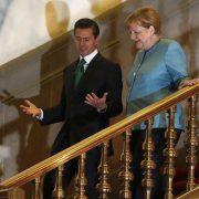 Wettsaufen mit Merkel