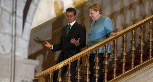 Merkel und Enrique Peña Nieto