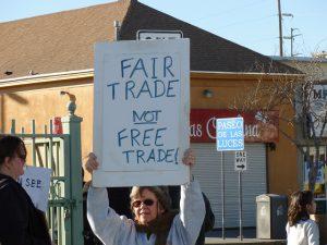 Protest Nafta