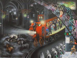 Wandbild Freihandel