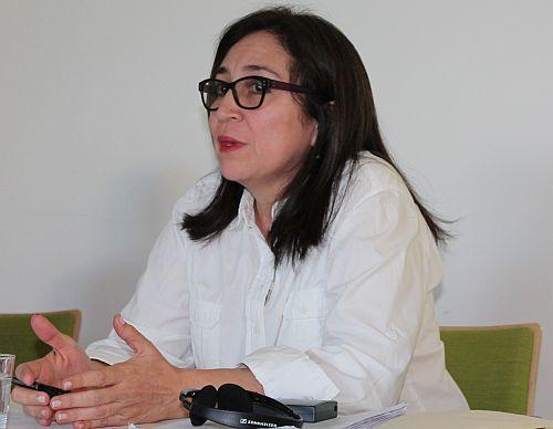 Kämpft gegen den undemokratischen Umbau von Staat und Justiz: Die ehemalige Richterin Tirza Flores / Foto: Hondurasdelegation