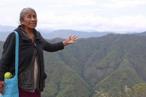 Herlinda Solano will keinen Bergbau auf dem Territorium der Gemeinde - und es könnte klappen / Foto: MR-Zentrum Tlachinollan (desinformemonos)