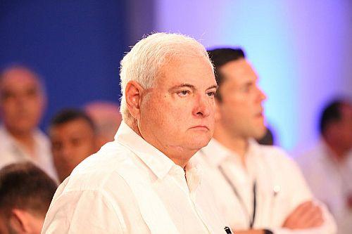 Ricardo Martinelli noch in seiner Eigenschaft als Präsident Panamas 2014 in der Dominikanischen Republik / Foto: Presidencia RD, cc-by-nc-nd-2.0