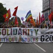 Lateinamerikanische Aktivist*innen fordern eine gerechte Weltwirtschaftsordnung