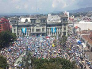 Kundgebung Guatemala