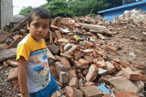 Junge Erdbeben