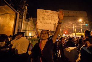 Protest Guatemala