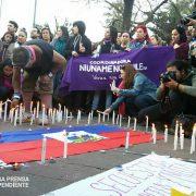 Kerzen für Joane Florivil – junge Haitianerin in Polizeigewalt verstorben