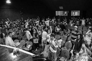 Die Nachricht über die Festsetzung von Chafik in Brasilien platzte direkt in das Jahrestreffen der Landlosenbewegung MST / Bildquelle: Dowglas Silva/MST