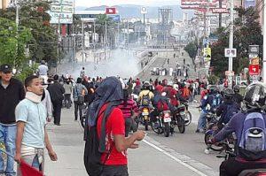 Proteste nach den Wahlen in Honduras / Foto: desinformemonos