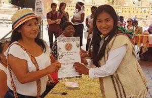 Unter den Opfern befindet sich die bekannte 20-jährige Menschenrechtsvaktivistin Viviana Trochez Dagua (rechts im Bild) / Foto: nomadesc.com