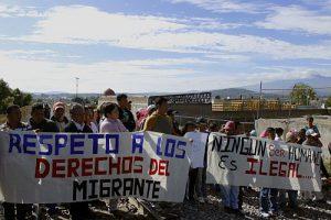 Die Zahl der Festnahmen von minderjährigen Migrant*innen ist gestiegen, ihr Recht auf ein humanitäres Visum wird oft missachtet / Foto: Itandehui Reyes Díaz, cimacnoticias