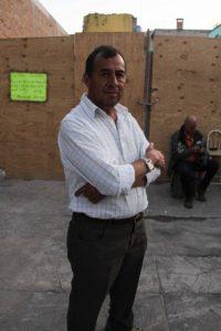 """""""In meinem Geschäft Algeca habe ich den Großteil meines Lebens verbracht, und jetzt existiert es nicht mehr"""" sagt José Alejandro Garibay / Foto: José Luna, desinformemonos"""