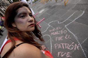 Protest gegen machistische Gewalt