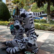 """Die """"Zebras"""" in La Paz: Unterwegs mit urbanen Verkehrserzieher*innen"""