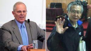 Kuczynski und Fujimori