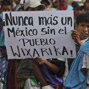 Wixárika in Jalisco kämpfen für ihre Ländereien