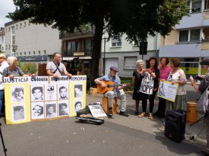 Kundbegung gegen Straflosigkeit Krefeld Juni2018 - Foto Ute Löhning