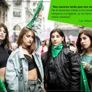 Fotoreportage: Die feministische Bewegung politisiert Argentinien
