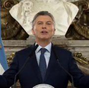Präsident Macri spricht erstmals von nationalem Notstand