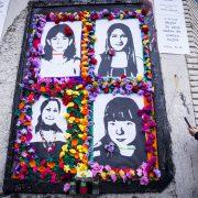 Fotoreportage: Mahnmal für die Toten durch geheime Abtreibung