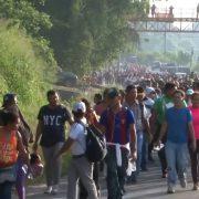 1600 honduranische Migrant*innen auf dem Weg in die USA